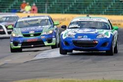 #25 Freedom Autosport Mazda Speed 3: Derek Whitis, Tom Long