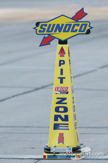 Pit Speed Zone Marker