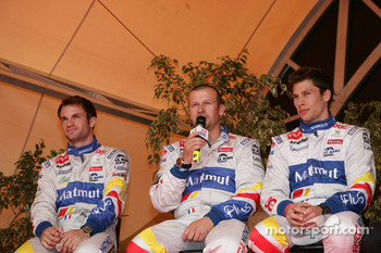 Nicolas Lapierre, Olivier Panis, Loic Duval