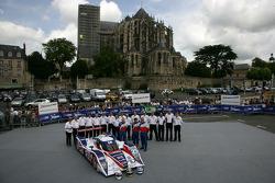 #25 RML Lola HPD Coupe: Mike Newton, Thomas Erdos, Andy Wallace
