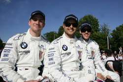 Dirk Werner, Andy Priaulx and Dirk Müller