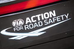 FIA Action for Road Safety on the #63 Corvette Racing Chevrolet Corvette C7-R