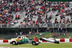 Felipe Massa, Williams FW38, Unfall im ersten Freien Training