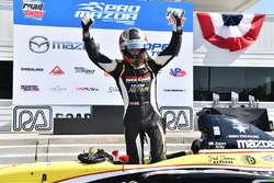 Race winner Aaron Telitz, Team Pelfrey