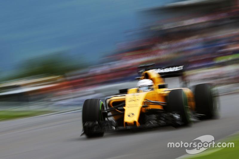 17: Кевін Магнуссен, Renault Sport F1 Team RS16