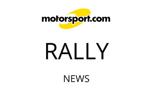 Ross Nicastri switches cars in Safari Rally