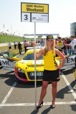 Charming Grid Girl