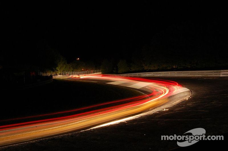 Karussel at night, 24H Nürburgring 2008