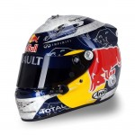Vettel's 2011 Helmet Designs