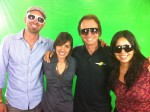 Evoke Sunglasses Green Screen Shoot with NOBOX marketing team