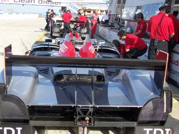 Team Audi Pits
