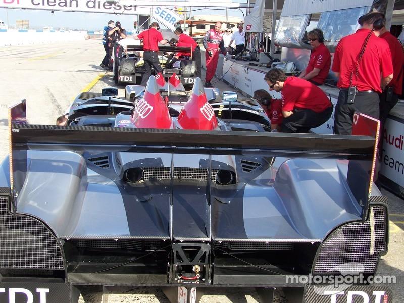 Team Audi Pits