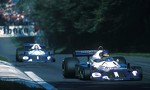 Ronnie Peterson and Patrick Depailler. Monza 1977