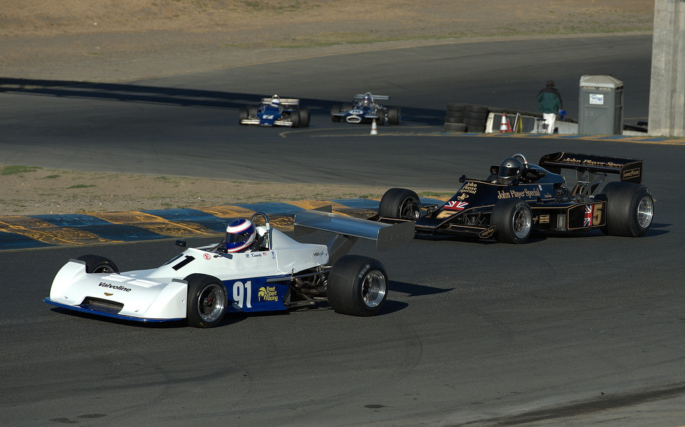 Classic Open Wheel Cars