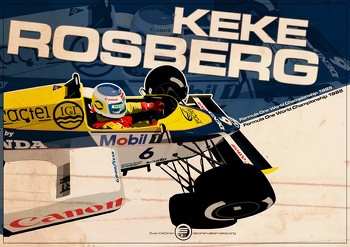 Keke Rosberg - F1 1985