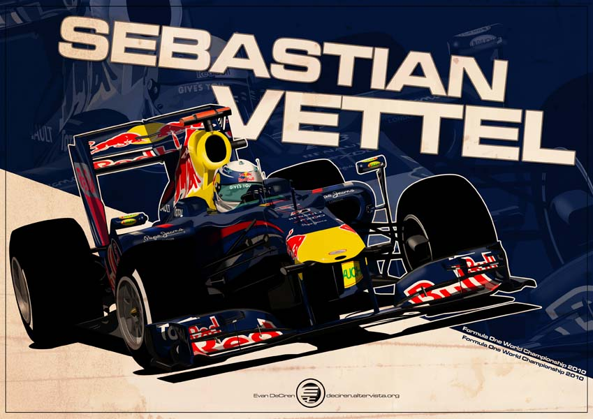 Sebastian Vettel - F1 2010