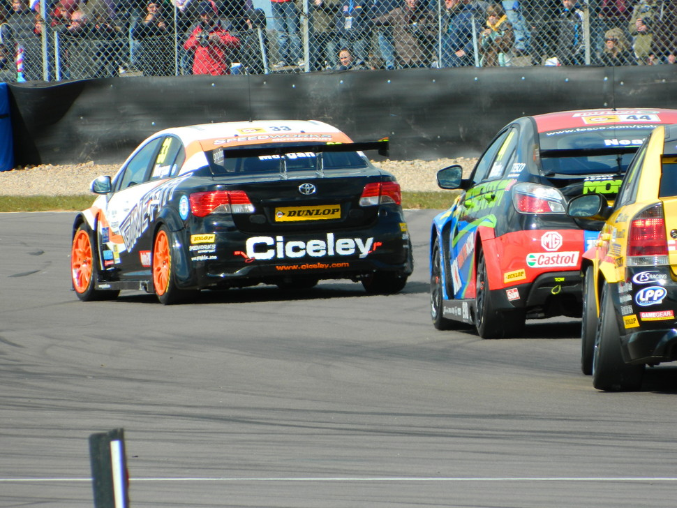 Morgan leads the pack out of Esses