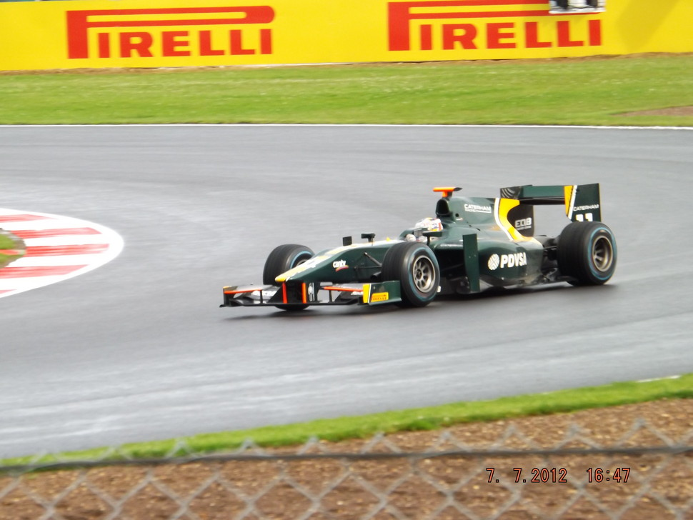 Rodolfo Gonzalez Caterham GP2 Team