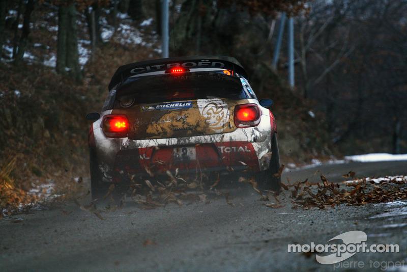 Mikko Hirvonen - Jarmo Lehtinen DS3 WRC