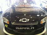 Front view of the #51 Jeremy Clements Racing Impala