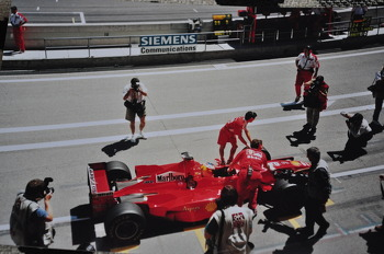 Michael Schumacher at Circuit de Catalunya, Spanish GP 1998