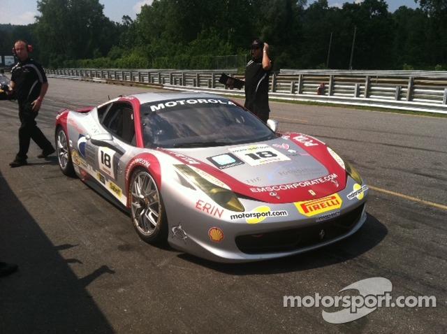 Jim Weiland's 458 Italia on pit lane
