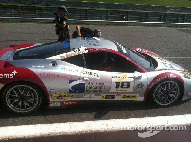 Jim Weiland's #18 458 Italia GT