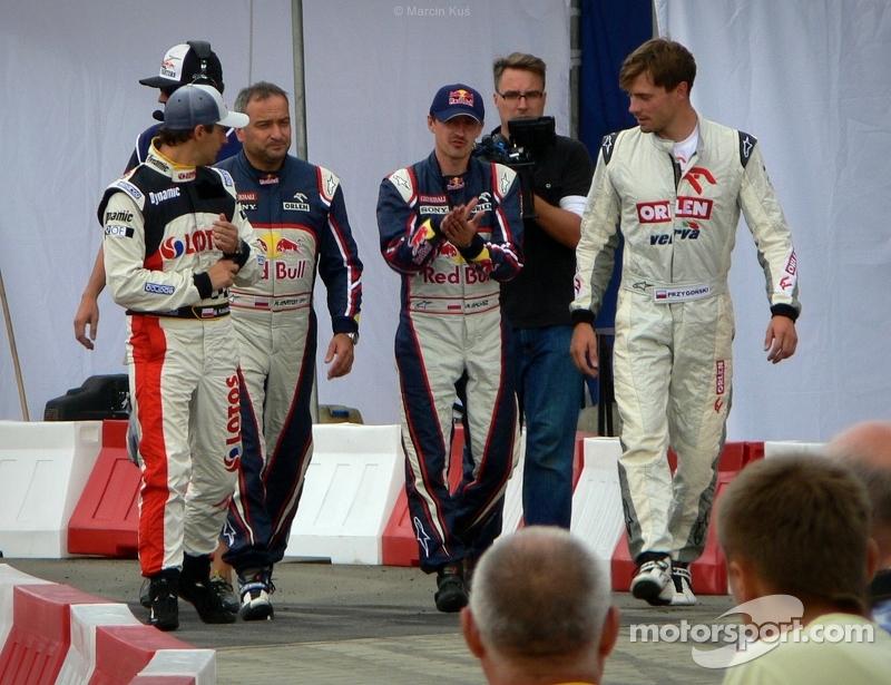 Polish drivers sport - Red Bull Kart Fight