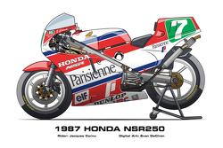 Honda NSR250 - 1987 Jacques Cornu