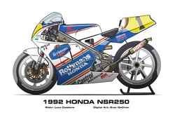 Honda NSR250 - 1992 Luca Cadalora
