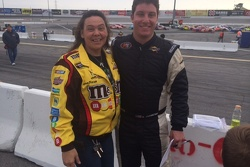 A Kyle Busch fan meets AG
