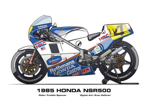 Honda NSR500 - 1985 Freddie Spencer