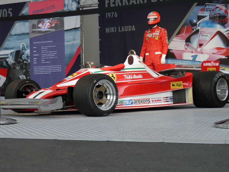 Niki Lauda Ferrari 312T2 1976'