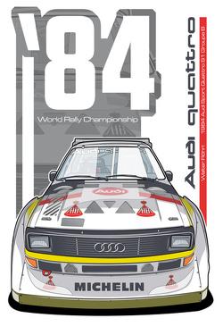 Audi Quattro Sport S1 - 1984
