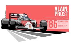 Alain Prost - 1985 Österreichring
