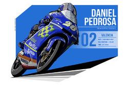 Daniele Pedrosa - 2002 Valencia