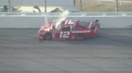Brad Keselowski Big Crash