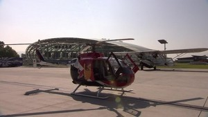 Formula 1 2011 - Red Bull Racing - Mark Webber in the Helicopter - Interview and General View
