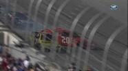Logano Spins After Contact - Darlington Raceway 2011