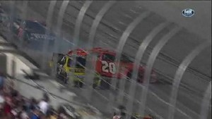 Logano Spins After Contact - Darlington Raceway 2011
