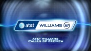 AT&T Williams - Italian GP Preview