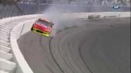 Gordon Hits Wall Hard - Las Vegas Motor Speedway 2011