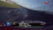 Bodine Crashes Out - Daytona International Speedway 2011