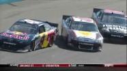 Ragan and Smith Into Wall - Phoenix International Raceway 2011