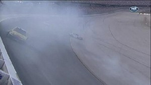 Calamity Restart With 4 Laps Remaining - Aaron's 499 - Talladega 2012