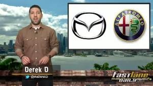 BMW Worth $25 Billion, Ferrari 458 Italia Flip, & Mazda-Fiat Roadster!