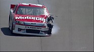 Trevor Bayne Wrecks Hard - Michigan - 08/19/2012