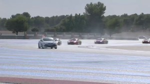Eurocup Megane Trophy Paul Ricard News 2012 - Race 1