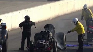 Terry Haddock NHRA Crash St Louis 2012