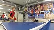 Nico Rosberg Ping Pong Champion 2012